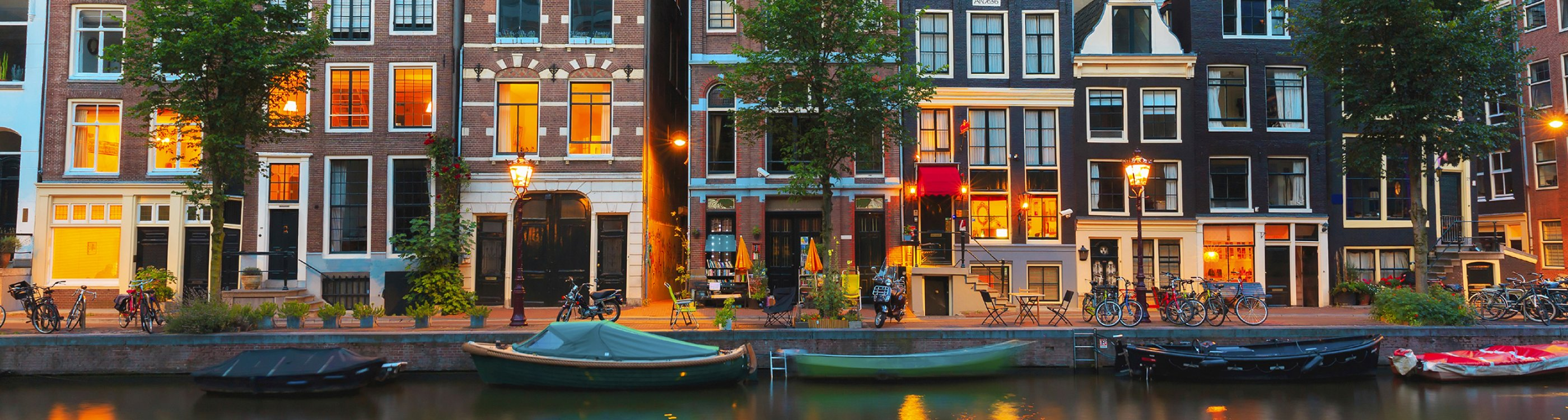 Amsterdam Pays-Bas Canaux Terrasse